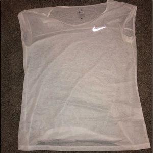 Nike see through workout shirt